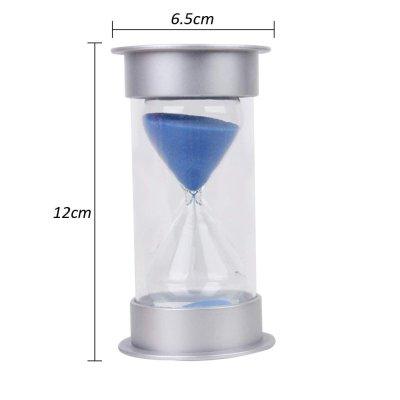 画像1: 砂時計 タイマー サンドタイマー 透明感 5/10/15/30分計 (15分計, 青)