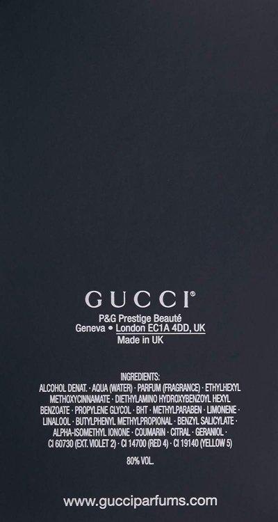 画像2:  ギルティブラックプールオム EDT50ML        GUCCI(グッチ)